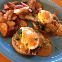 Chipotle Eggs Benedict