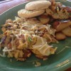 Applewood Smoked Sausage Scramble with Swiss