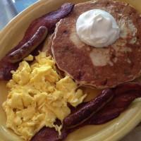 Savory Stuffed Pancakes Full House