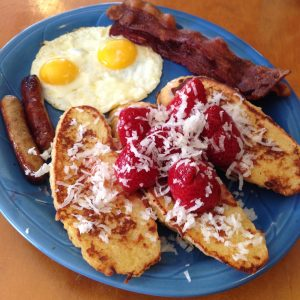 coconut strawberry french toast full house