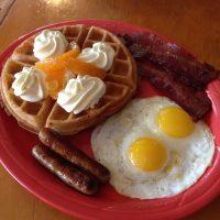 Orange Waffle Full House
