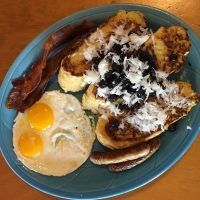 Blueberry Coconut French Toast Full House