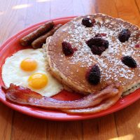 Marionberry Buttermilk Pancake Full House